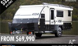 *** FINANCE AVAILABLE ON ALL MDC CAMPER TRAILERS AND