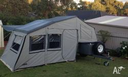 Xtrail 9ft tent - Blue/White in colour Has been used