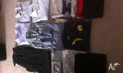 Over 50 Pieces of XXL Mens Clothing Ranging From Casual