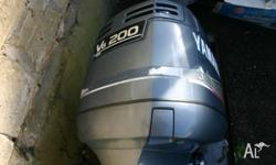 -Year: 1999 -200HP Yamaha 2-stroke Saltwater Series