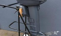 "1999 YAMAHA 20Hp outboard. This is STD long 20"", comes"