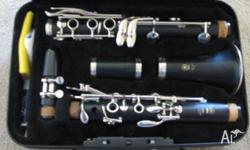 Yamaha 250 Clarinet with a 4C mouthpiece in great