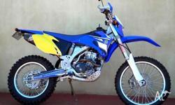 YAMAHA, 250CC, 2010, ENDURO, .2, 1cyl, 5sp MANUAL,