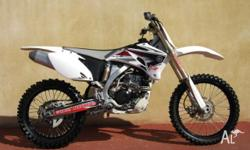 YAMAHA,250CC,2009, MOTOCROSS, .3, 1cyl, 5sp MANUAL,
