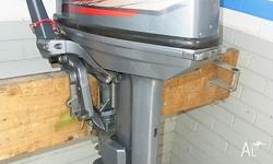"2008 Yamaha 25Hp outboard. This is a 15"" short motor,"