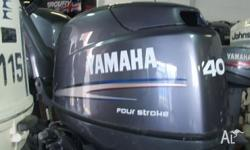 YAMAHA 40 MY08, 2007, 4 STROKE, 747cc, 40hp, UNLEADED