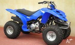 YAMAHA, 80CC, 2005, ATV, .1, 1cyl, 3sp MANUAL AUTO