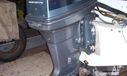 Yamaha outboard with SS prop and 642hrs. Very reliable