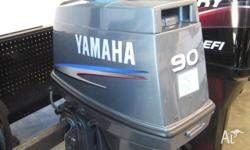Yamaha 90Hp Outboard 2-Stroke Long Shaft Great