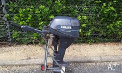 YAMAHA 9.9HP 4-stroke outboard, 1996, This long shaft