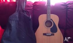 Yamaha acoustic gutiar- Model F31op Guitar is in