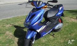 Yamaha Aerox YQ50 VERY LOW KMS compared to other