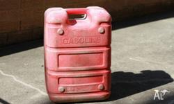 For sale is an used Yamaha 24 litres jerry can for