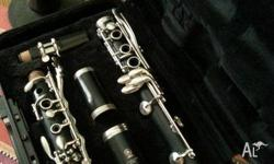 Student clarinet in good condition. Well looked after.