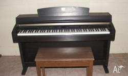 This electric piano is in very good condition and