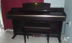 This Clavinova has had little use and is in as new