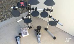 Fanastic electronic drum kit that I am only selling due