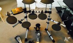 In excellent condition, rarely used electronic drum