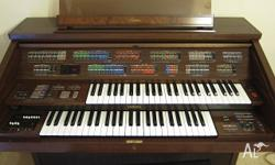 We are selling our fathers electronic organ, in as new