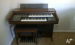 Yamaha Electone ME300 Electronic Organ in excellent
