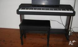 Electric Piano Calvinova CVP5 Has weighted keys,