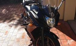Yamaha FZ6R for sale. Top condition. Side knobs, Tank