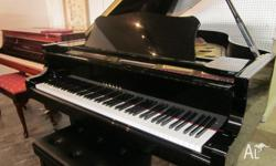 Yamaha G3 grand piano in new condition. Comes with 10