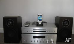 Yamaha HiFi Component System with NSB750 Speakers,