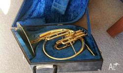Mellophone similar to French Horn and in key of Bb
