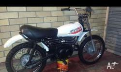 1979 yamaha mx 80 80cc 2 stroke Original above average