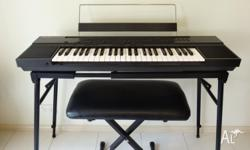 Yamaha Portatone PSR-50 Organ. Comes with: # Owners