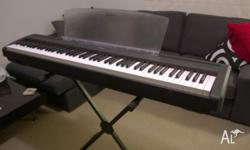 Electronic piano I bought a few years back. Started