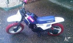 Yamaha peewee 50 2 speed automatic brand new tires and