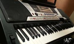 This keyboard has many beautiful sounds. I love in
