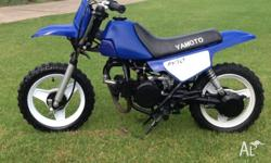 Yamato 50cc mini bike for kids in good condition, ready