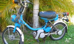 FOR SALE IS A 1981 YAMAHA QT50 50cc MOPED SHE IS