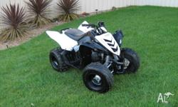 have for sale 2009 yamaha raptor 90cc ridden about 20