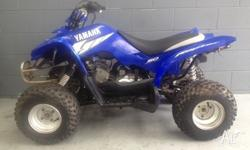 2005 YAMAHA RAPTOR 50CC QUAD. IN GOOD CONDITION, RUNS