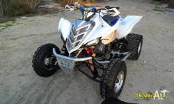 2007 Raptor 700 heaps of extras, DMC Force 4 twin