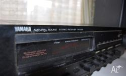 "Here is a great ""old school"" yamaha stereo amplifier"