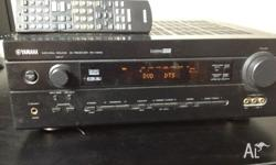 For sale Yamaha RX-V540 amplifier with remote control