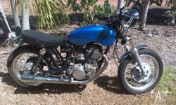 Up for sale is a cafe racer style 1988 SR400, This bike