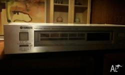 Yamaha tuner and national speakers for sale. Great