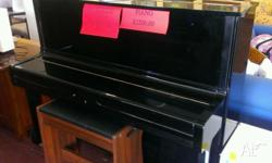 yamaha piano it is a u1 in good condition and open to