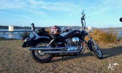 2007 Yamaha V star 250 very nice looking bike easy to