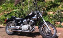 This motorbike is virtually as new, having done 6700km