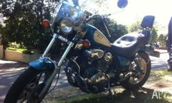 Sissy bar Screen Engine bars New Tyres Unregistered but