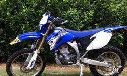 WR250F, 2007, Registered, One Owner, Only 1391 k's,