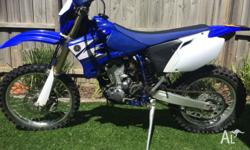 For sale Yamaha WR 450f 2006. Good condition. Selling