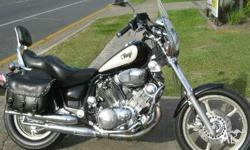 YAMAHA,XV1100,1992, BLACK, 1100, 2cyl, 80911kms, One of